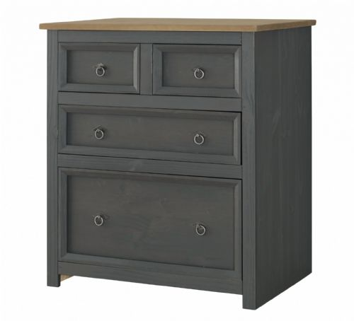 Corona Carbon 2 + 2 Bedroom Chest